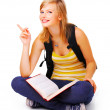 Royalty-Free Stock Photo: Sweet casual student