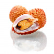 Isolated orange Lychee - Stock Photo