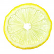 Royalty-Free Stock Photo: Macro of lemon slice