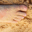 Sandy Toes - Stock Photo