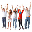 WooHoo!!! We Won! - Stock Photo