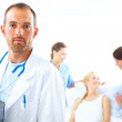 A caring profession - Stock Photo