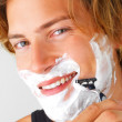 Royalty-Free Stock Photo: Morning shave