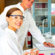 Two in a lab - Stock Photo