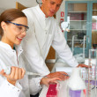 Royalty-Free Stock Photo: Scientists working