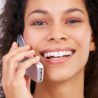 Royalty-Free Stock Photo: Cell phone chatting