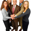 Royalty-Free Stock Photo: Five Person Business Team