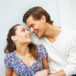 Young playful couple - Stock Photo