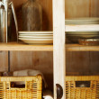 Close-up of classy cupboard - Stock Photo