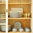 Close-up of classy cupboard - Foto Stock