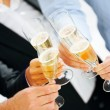Royalty-Free Stock Photo: Business group celebrating