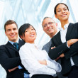 Business group portrait - Stock Photo