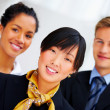 Multi-ethnic business portrait - Stock Photo