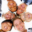 Multi-ethnic group portrait - Stock Photo