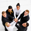 Royalty-Free Stock Photo: Teamwork and team spirit