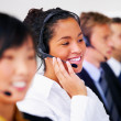 Helpdesk or support operator - Stock Photo