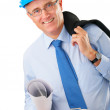 Senior construction worker - Stock Photo