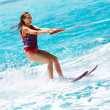 Water skiing - Stock Photo