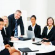 Diverse business group meeting - Stock Photo
