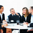 Royalty-Free Stock Photo: Diverse business group meeting