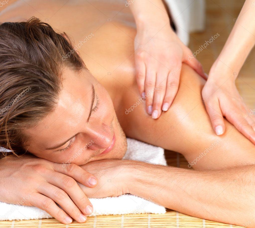 Смотреть хороший массаж для мужчины 28 фотография