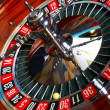 Royalty-Free Stock Photo: Roulette action