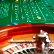 Casino table. - Stock Photo