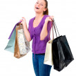 Royalty-Free Stock Photo: Young female shopping