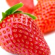 Isolated fruits - Strawberries - Stock Photo