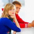 Royalty-Free Stock Photo: Couple of kids in class
