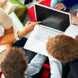 Relaxed studygroup - Foto Stock