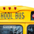 Yellow School Bus - Stock Photo