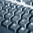 Royalty-Free Stock Photo: WWW - Spelled in keys on a laptop