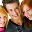 Royalty-Free Stock Photo: Three Beautiful Teenagers