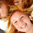 Three Teenagers - Stock Photo