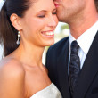 Wedding Kiss - Stockfoto