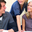 Royalty-Free Stock Photo: Happy young study group