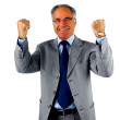 Businessman Excited About His Success - Stock Photo