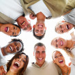 Royalty-Free Stock Photo: Portrait of laughing business colleagues
