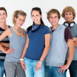 Royalty-Free Stock Photo: Modern lifestyle - Group of teenagers