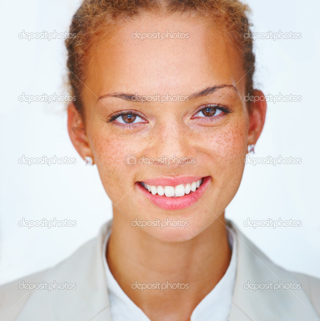Portrait of pretty young business woman — Stock Photo #3274122