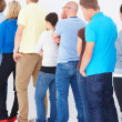 Waiting in the Queue - Stock Photo