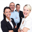 Royalty-Free Stock Photo: Ha ha very funny - Business team being humourous
