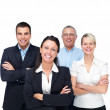 Royalty-Free Stock Photo: Portrait of a happy business team