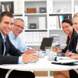 Royalty-Free Stock Photo: Office life - Happy having a business meeting