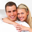 Royalty-Free Stock Photo: Modern couples - cosy couple hugging