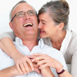 Royalty-Free Stock Photo: Funny older couple laughing together