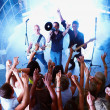 Royalty-Free Stock Photo: Rock bands - Performing for a young audience
