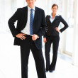 Royalty-Free Stock Photo: Portrait of confident business standing together