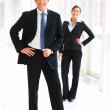 Royalty-Free Stock Photo: Portrait of smiling business standing together